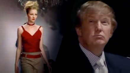 trump and the model