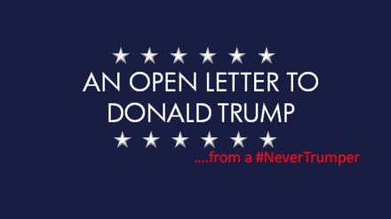 letter to trump must read