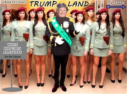 Trump Land of hot girls
