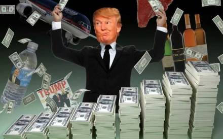 Nutty Trump what he like best being rich-800 x 499-jpg