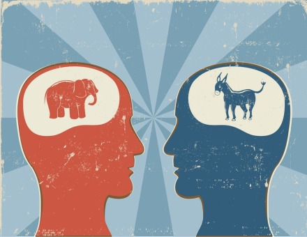 republican or democrat brain