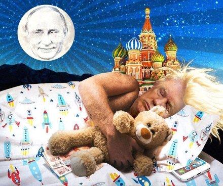 Trump dreams of russia